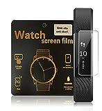 「transocean.Inc」Fitbit Alta 専用フィルム Fitbit Alta ウォッチ 防爆保護フィルム対応 Fitbit Alta Watch screen film 5pcs (透明,5枚)