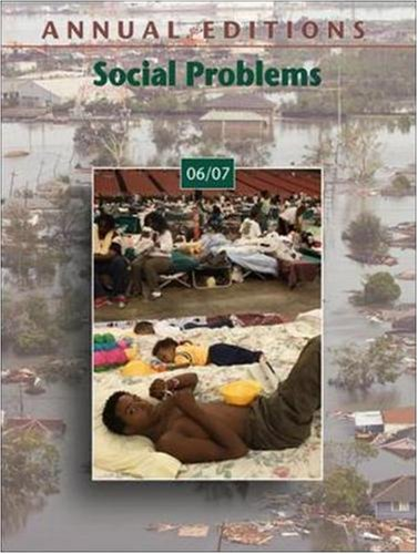 Annual Editions: Social Problems 06/07