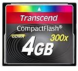 Acquista Transcend TS4GCF300 UDMA 300X Compact Flash 4096 MB