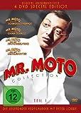 Mr. Moto Collection - Teil 1: Mr. Moto und die Schmugglerbande / Mr. Moto und der China-Schatz / Mr. Moto und der Dschungelprinz / Mr. Moto und der Kronleuchter [Special Edition] [4 DVDs]