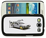 Samsung Galaxy S3 i9300 Fun, Funny, Cool Back To The Future Car Case/Cover + Screen Protector