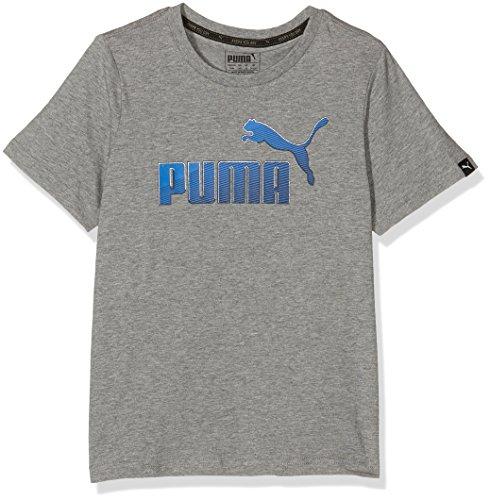 Puma Hero-Maglietta a maniche corte da ragazzo, taglia M, colore: grigio antracite, taglia: 12 anni (taglia del produttore: 152)