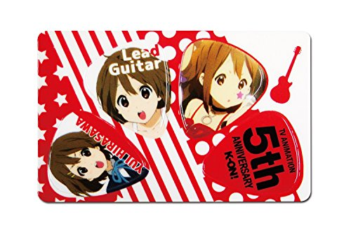 Pick Card Pick 4 Disc K-on! Yui (Red) Pikcard K-on / YUI - 1