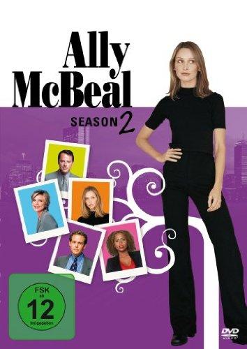 DVD ALLY MCBEAL SEASON 2