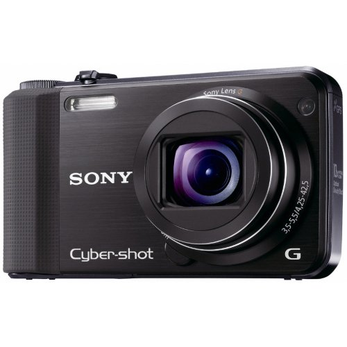 Sony DSCHX7V Cyber-shot Digital Still Camera - Black (16.2MP, 10x Optical Zoom) 3 inch LCD