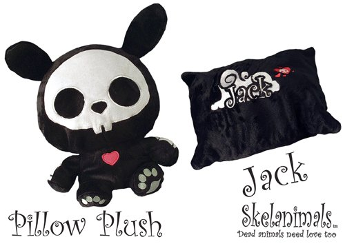 Skelanimals: Jack the Rabbit Transformable Pillow Plush