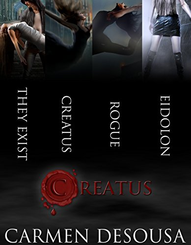 A realistic romantic mystery based on the myths you've heard your entire life. Prepare to believe….  Creatus Series Boxed Set by Carmen DeSousa