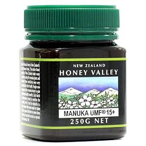 アクティブマヌカハニー UMF15+ 250g ハニーバレー(100% Pure New Zealand Honey)マヌカ蜂蜜