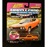 1970 Ford Torino * Collector No. 60 * Johnny Lightning 1999 Muscle Cars U.S.A. Collection 1:64 Scale Die Cast...