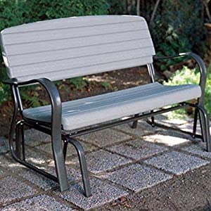 Lifetime Products Outdoor Glider Loveseat - Putty from Lifetime Products