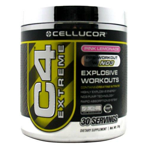 Cellucor C4 Extreme Pink Lemonade 30 Servings Pre-Workout Intensifier