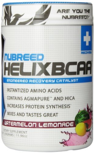 Nubreed Nutrition Helix BCAA Diet Supplement, Watermelon Lemonade, 339 Gram