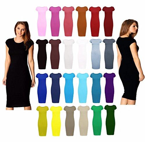MKL Fashions -  Vestito  - Donna nero 54