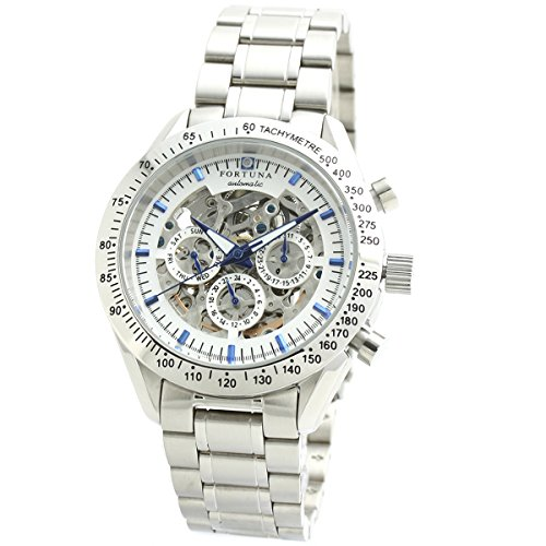 【FORTUNA】フォルトナ 腕時計 自動巻き 手巻き 機械式 メンズ時計