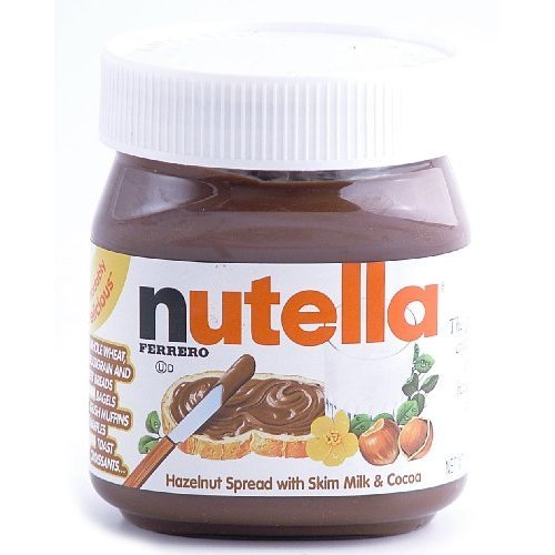 Nutella Hazelnut Spread with Skim Milk and Cocoa, 13oz (371g) (Pack of ...