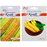 Seed Packets (2 In 1) - Baby Corn Hybrid & Sweet Corn Hybrid Seeds