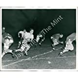 Vintage Photo- Football game at night