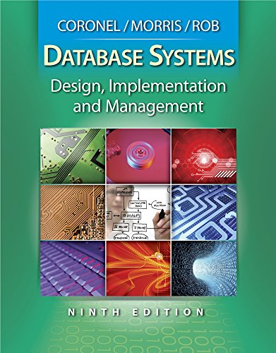 Database Systems: Design, Implementation and Management...