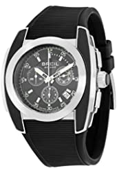 Breil Milano Men's BW0378 Mediterraneo Analog Black Dial Watch