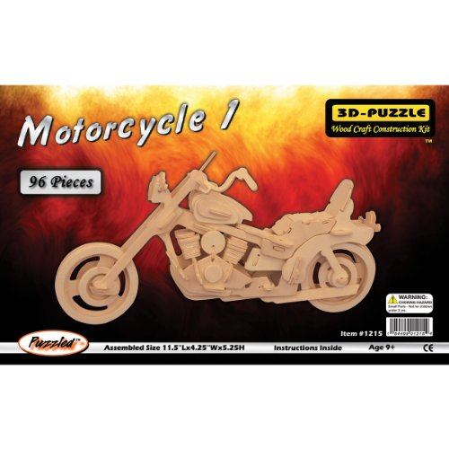 Puzzle Motorcycle 3D Jigsaw Puzzle