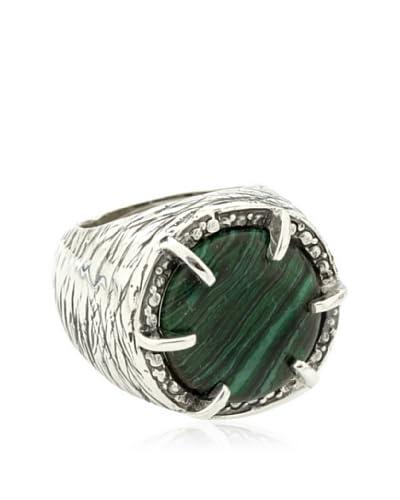 Yocari Anello Giada Verde [Argento]