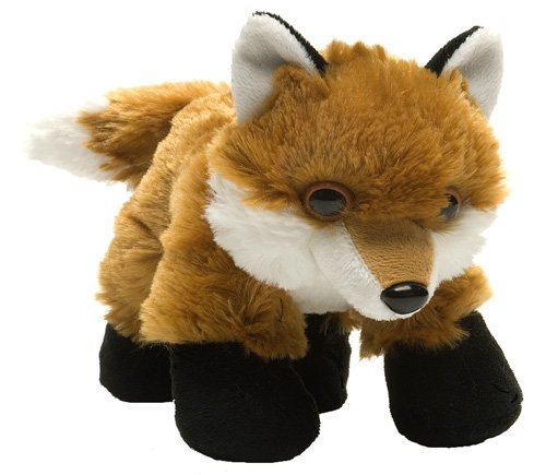 Wild Republic Hug Ems Red Fox Plush Toy - 1