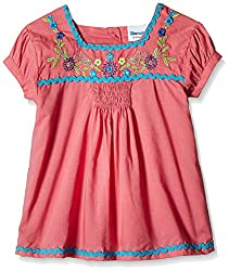 Donuts Baby Girls' Blouse (267821932_Coral_6 Months)