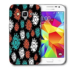 Snoogg Colorful Circles Printed Protective Phone Back Case Cover For Samsung Galaxy CORE PRIME