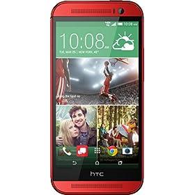 HTC One M8, Glamour Red 32GB (Verizon Wireless)