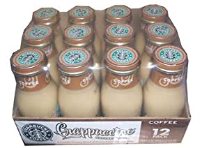 Starbucks Coffee Frappuccino Coffee Drink, 9.5 Ounce Bottles-(pack of 12)