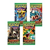 Pokemon Dragons Exalted Black & White TCG Boosters - Four (4) Packs