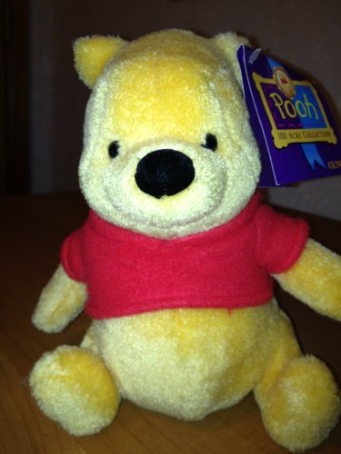 "Gund 100 Acre Collection ""Winnie the Pooh"" Terry cloth sitting 8"" - 1"