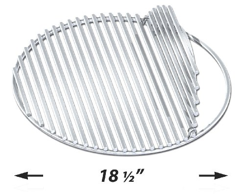 Luxury Stainless Cooking Grid for Large Big Green Egg (Big Green Egg Cooking Grid compare prices)