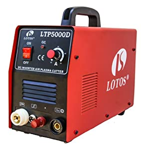 "LTP5000D LOTOS IGBT Pilot Arc Plasma Cutter 110/220VAC 1/2"" Cut with CNC auto cutting feature from Lotos"