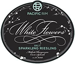 NV Pacific Rim White Flowers Sparkling Brut Riesling 750 mL