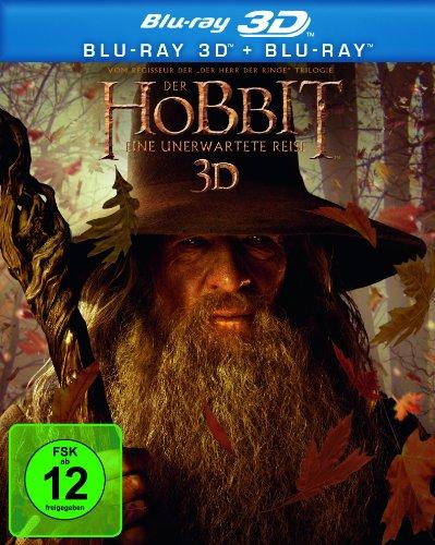Der Hobbit - Eine unerwartete Reise [Blu-ray 3D + Blu-ray]