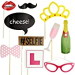 10Pcs Hen Party Photo Booth Props Kit...