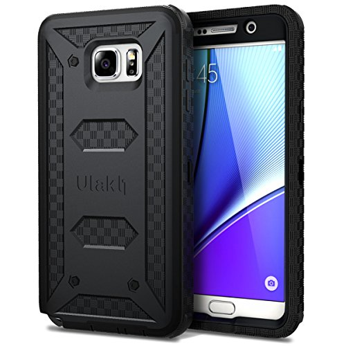 Best Review Of Galaxy Note 5 Case, ULAK KNOX ARMOR [Heavy Duty] Full-body Rugged Case For Samsung Ga...