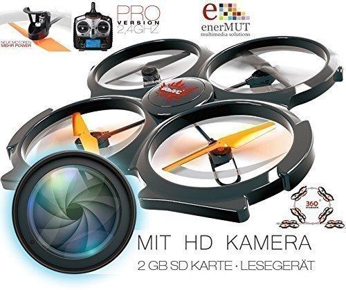 XXL-RC-Drohne-UDI-U829A-HD-MIT-HD-KAMERA-QUADROKOPTER-UFO-DROHNE-MIT-BAMPER-24GHZ-NACHFOLGER-U829A-NEUHEIT-Apr-2015