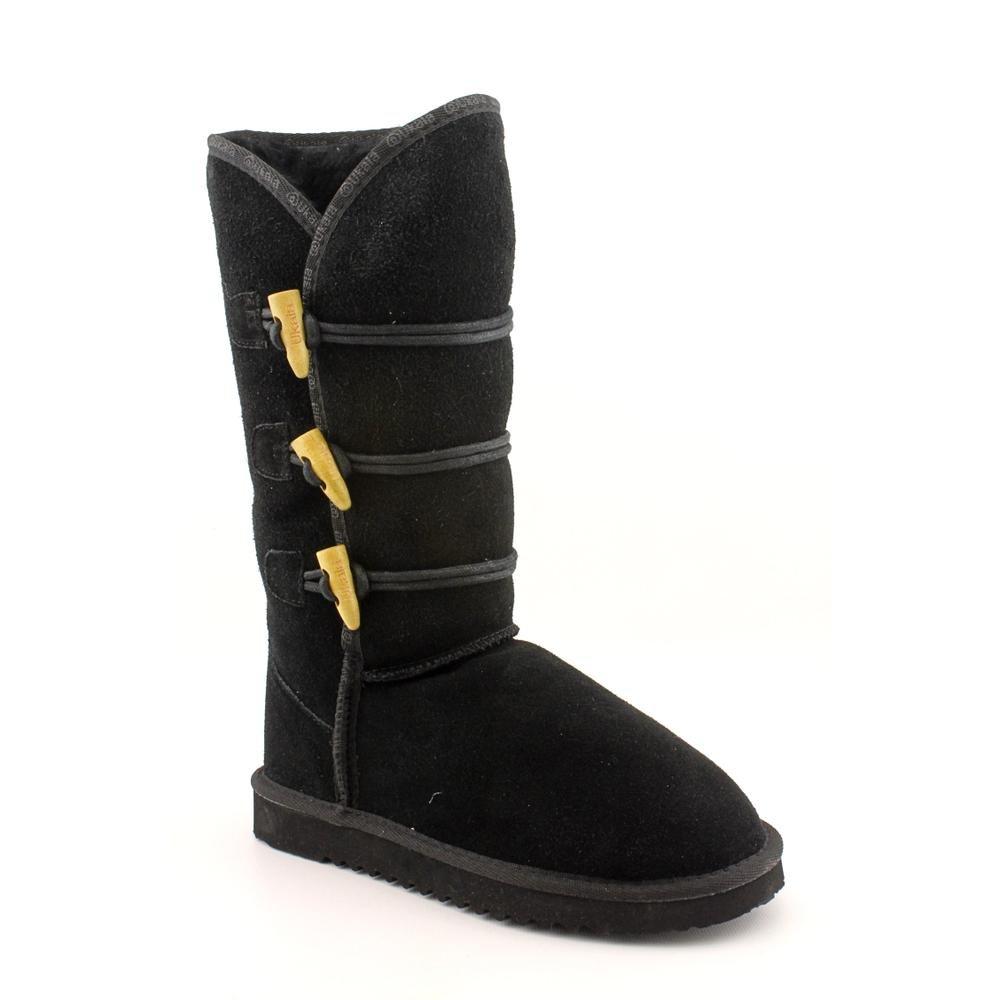 Ukala Taj High Womens Size 9 Black Regular Suede Winter Boots