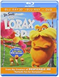 Dr. Seuss' The Lorax (Blu-ray 3D + Blu-ray + DVD + Digital Copy + UltraViolet)