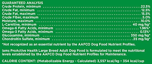 IAMS PROACTIVE HEALTH Large Breed Adult Dry Dog Food 30 Pounds_Image4