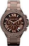 Michael Kors Womens Camille Espresso Chronograph Watch - MK5665