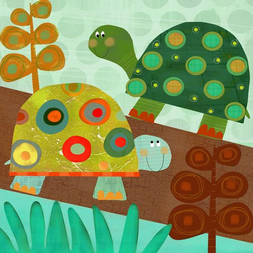 Turtle Nursery Decor front-529908