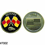 Flag And Whistle Flip Coin