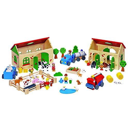 Goki 58598 - Set da gioco: La mia fattoria