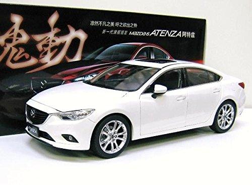Mazda特注 1/18 マツダ アテンザ セダン (ホワイト) SKY ACTIV 魂動