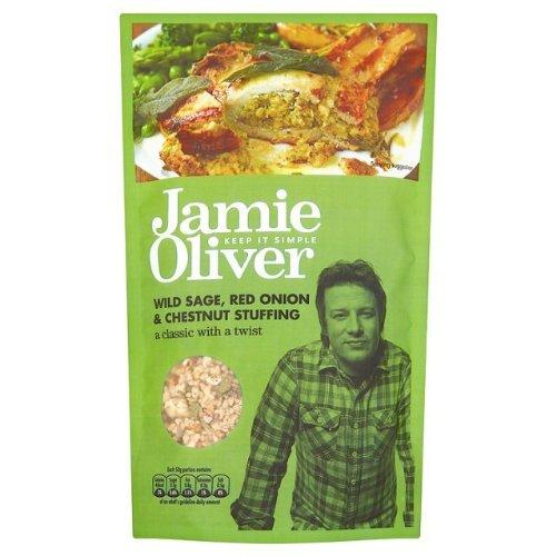 Jamie Oliver Wild Sage, Red Onion & Chestnut Stuffing Mix 110g