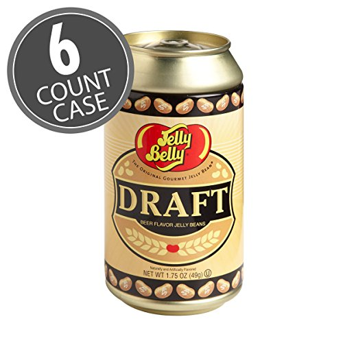 Jelly Belly Draft Beer Can Tin - 1.75 oz Can (Pack of 6) (Jelly Belly Bean Tin compare prices)
