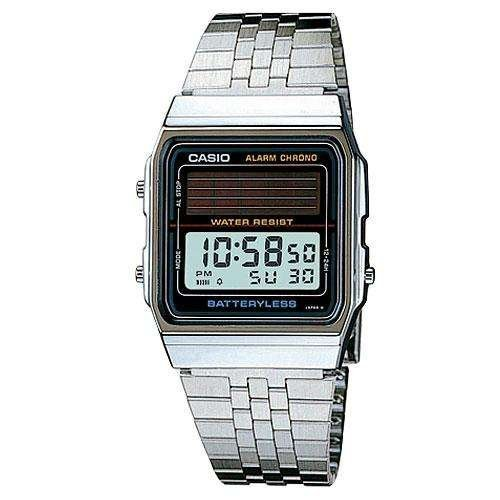 Casio Solar Battery-Less Watch - Silver : Al-180amvv-1udg 43997 [Watch]